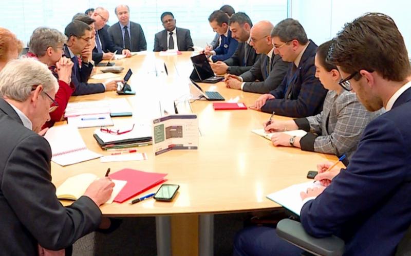 ივანე მაჭავარიანი საერთაშორისო სავალუტო ფონდის ფისკალურ საქმეთა დეპარტამენტის უფროსს შეხვდა