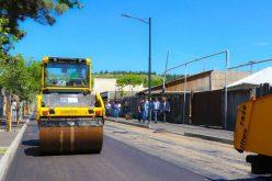 გლდანში ფოცხიშვილის ქუჩის კაპიტალური რეაბილიტაცია სრულდება