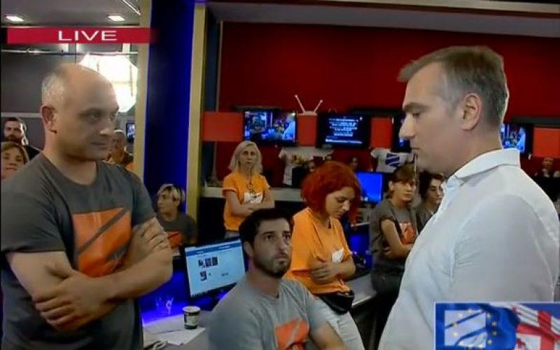 """""""რუსთავი 2""""-ის ახალი გენერალური დირექტორი პაატა სალია ტელეკომპანიაში მივიდა."""