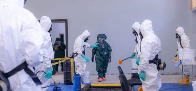 შსს-ს თანამშრომლებს მასობრივი განადგურების იარაღის გამოყენების გამოძიების შესახებ სასწავლო კურსი ჩაუტარდათ