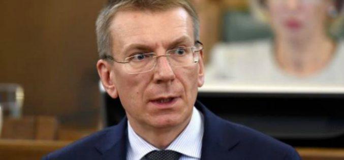 ედგარს რინკევიჩსი: არ უნდა დავივიწყოთ, რომ რუსული სამხედრო წარმომადგენლობა საქართველოში ამ დრომდე იმყოფება