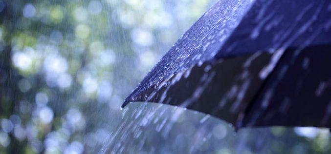 საქართველოს ზოგიერთ რაიონში 2-5 სექტემბერს ხანმოკლე წვიმა და ელჭექია მოსალოდნელი.