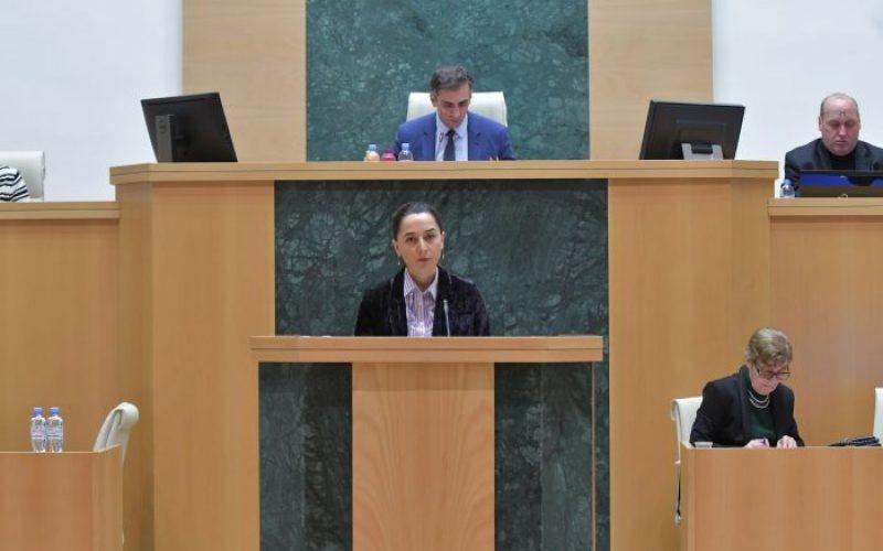 ნინო ცაციაშვილი: ქალთა მიმართ ძალადობის და ოჯახში ძალადობის მიმართულებით შსს გააგრძელებს მკაცრი პოლიტიკის განხორციელებას