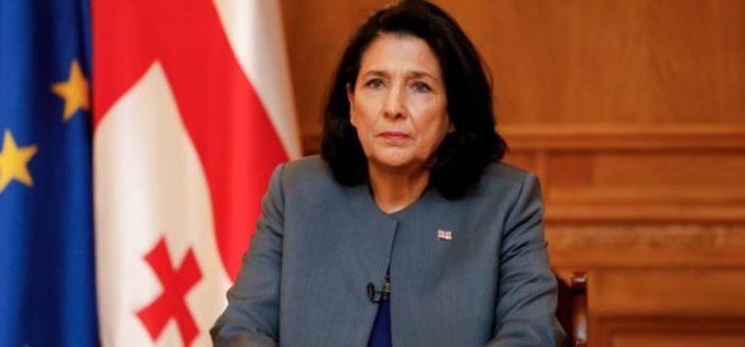 საქართველოს პრეზიდენტი, სალომე ზუაბიშვილი კორონავირუსთან დაკავშირებით მიმართვას ავრცელებს.