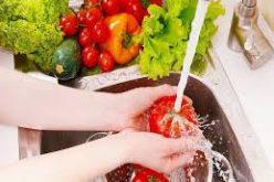 უმი ხილი და ბოსტნეული საპნით უნდა გაირეცხოს