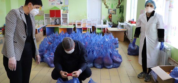 ზუგდიდის საბავშვო ბაღებში პროდუქტის გაცემის მეორე ეტაპი დაიწყო