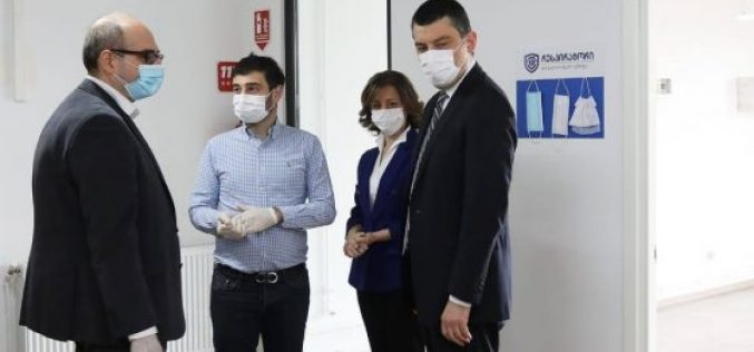 საქართველოს მთავრობის მხარდაჭერით ქართულმა კომპანიამ სამედიცინო პირბადეების წარმოება დაიწყო