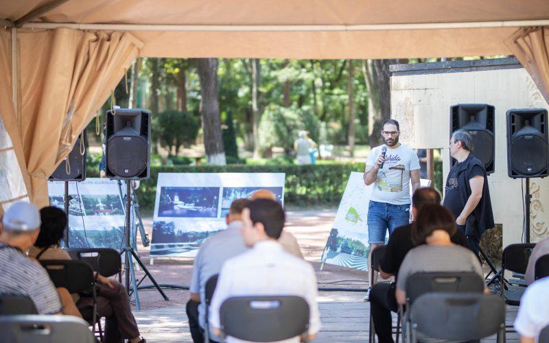 ვაკის პარკის შადრევნებისა და კასკადის სრული რეაბილიტაციის პროექტირების შესახებ მოსახლეობასთან საჯარო შეხვედრა გაიმართა