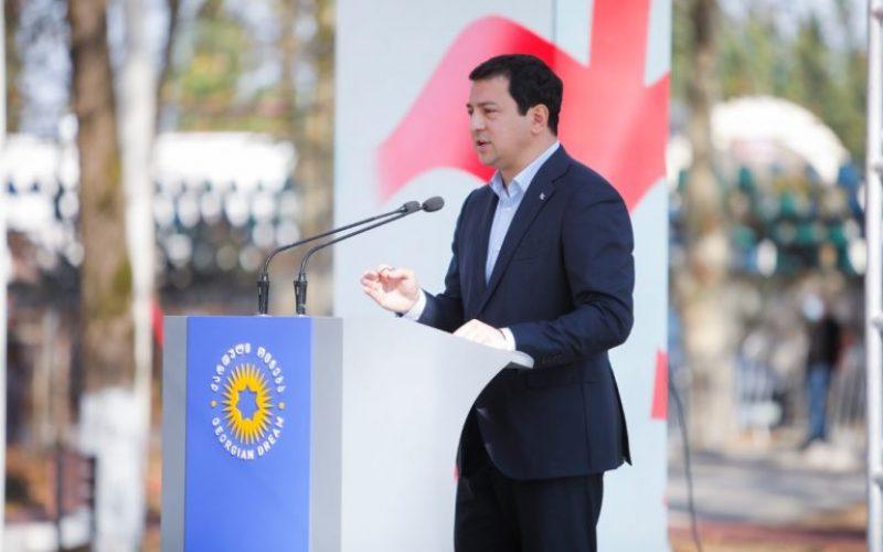 """არჩილ თალაკვაძე – """"ქართული ოცნების"""" გუნდმა კარგად ვიცით, თუ რა სჭირდება ჩვენს ქვეყანას"""
