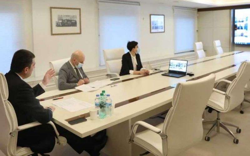 პრემიერმა მსოფლიო ბანკის ვიცე-პრეზიდენტთან საქართველოს ვაქცინაციის ეროვნული გეგმის მხარდაჭერის შესაძლო მიმართულებები განიხილა