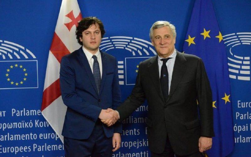 ირაკლი კობახიძე – მეამაყება, რომ პირადად ვესწრებოდი ევროპარლამენტის სხდომას, რომელზეც ეს გადაწყვეტილება იქნა მიღებული