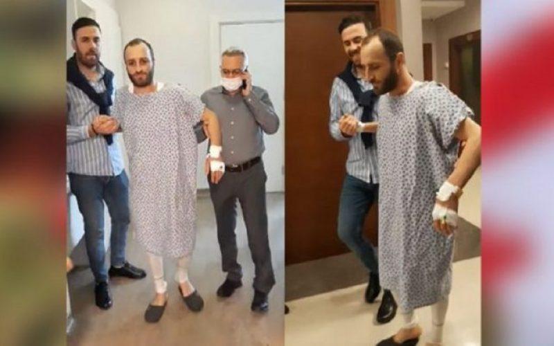 ქართველმა ჯარისკაცმა, რომელიც ავღანეთში ნაღმზე აფეთქდა 2 წლის შემდეგ ფეხზე გავლა შეძლო