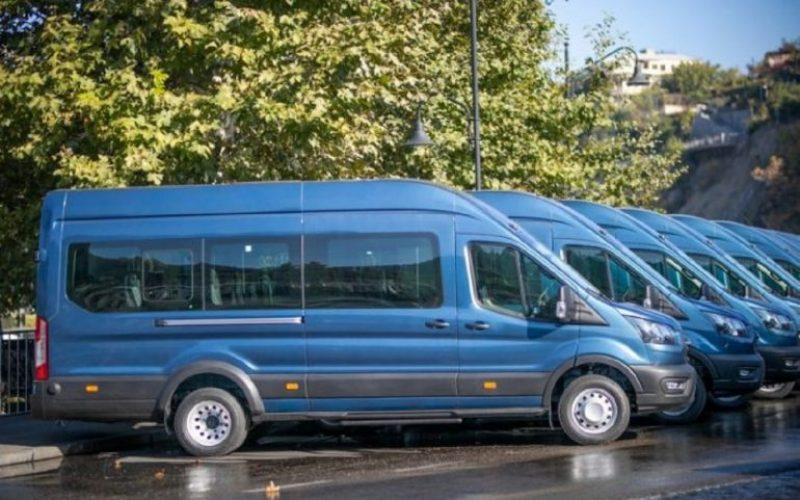 თბილისის მერია ძველ, ყვითელ მიკროავტობუსებს 1 000 ახალი მიკროავტობუსით ჩაანაცვლებს