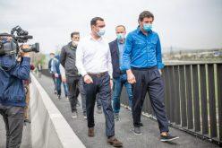 ევროპის ქუჩაზე ხიდის რეაბილიტაცია დასრულდა