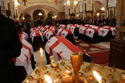 აფხაზეთის კონფლიქტისას უგზო-უკვლოდ დაკარგული და იდენტიფიცირებული 13 ადამიანის ნეშტი სამების საკათედრო ტაძარში დაასვენეს