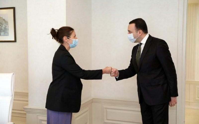 საქართველოს პრემიერ-მინისტრი EBRD-ის კავკასიის რეგიონულ დირექტორს შეხვდა