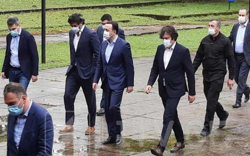 """""""ქართული ოცნების"""" ლიდერები სამეგრელო-ზემო სვანეთის რეგიონში წინასაარჩევნო შეხვედრებს მართავენ"""