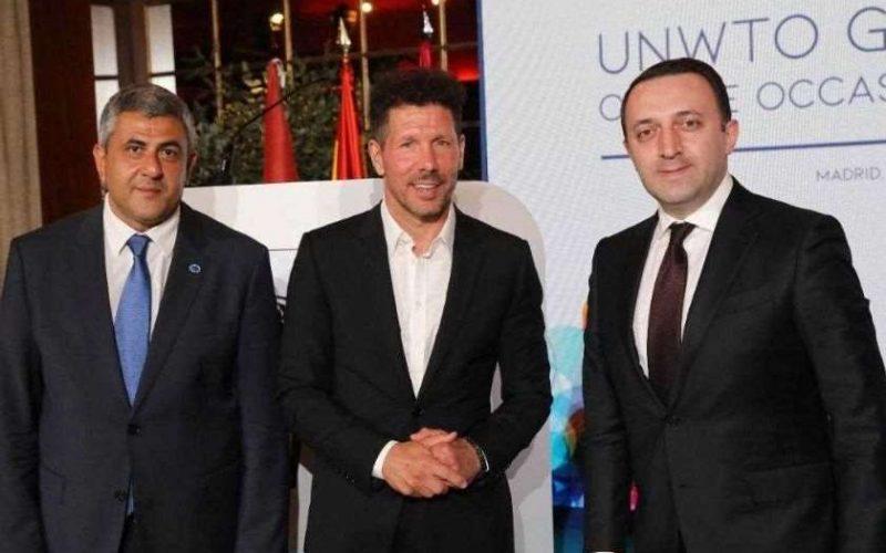 ესპანეთის სამეფოში ვიზიტის ფარგლებში, საქართველოს პრემიერ-მინისტრი ირაკლი ღარიბაშვილი, დელეგაციასთან ერთად, ოფიციალურ მიღებას დაესწრო