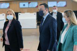 ირაკლი ღარიბაშვილმა ქუთაისის საერთაშორისო აეროპორტში ახალი ტერმინალი გახსნა