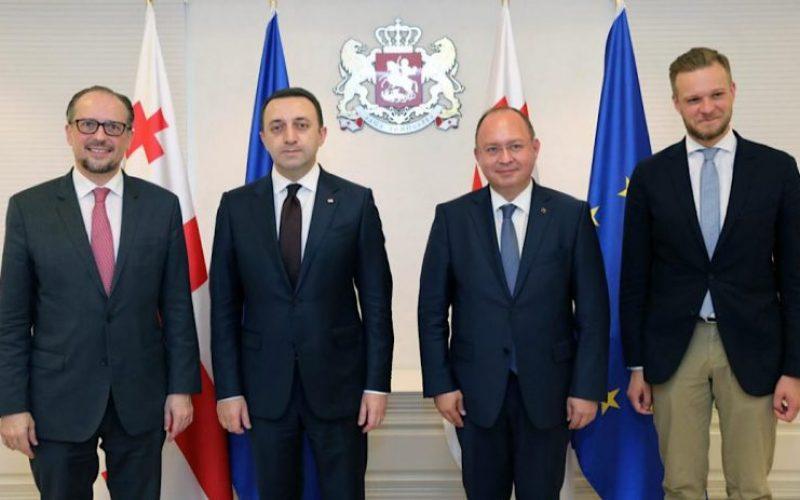 ავსტრიის, რუმინეთისა და ლიეტუვის საგარეო საქმეთა მინისტრებმა ირაკლი ღარიბაშვილს სომხეთსა და აზერბაიჯანს შორის წარმატებული მედიაციისთვის მადლობა გადაუხადეს