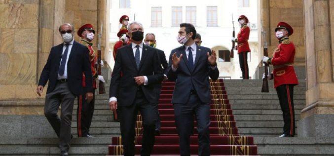 კახა კუჭავა ლიეტუვას რესპუბლიკის პრეზიდენტს, გიტანას ნაუსედას შეხვდა