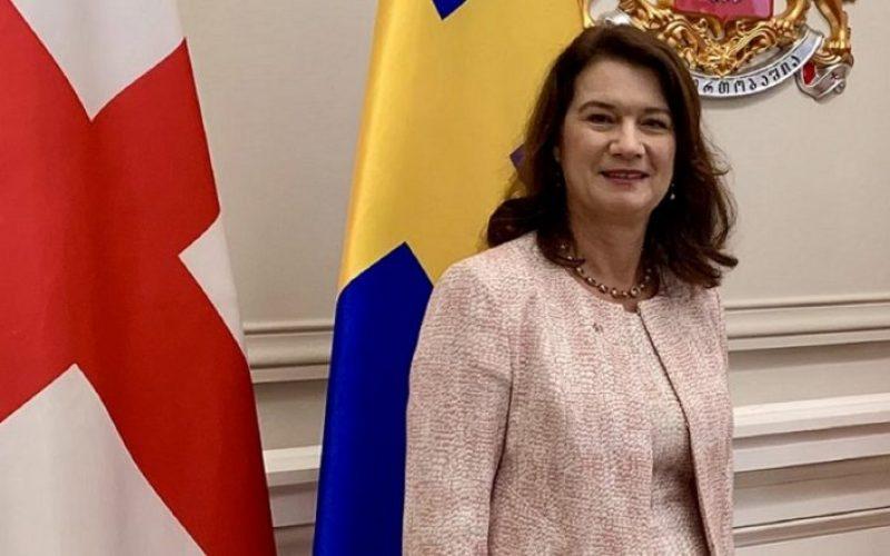 """""""შვედეთი მხარს უჭერს საქართველოს დამოუკიდებლობას, სუვერენიტეტსა და ტერიტორიულ მთლიანობას"""""""