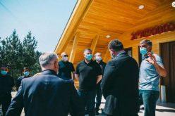 ვახტანგ გომელაურმა თუშეთში, სოფელ ომალოში პოლიციის ახალი შენობა გახსნა