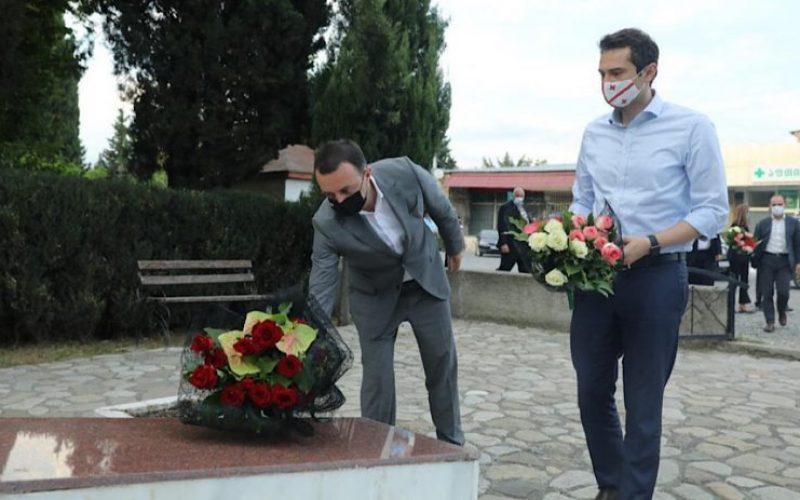 პრემიერ-მინისტრმა საქართველოს ეროვნული გმირის, გიორგი ანწუხელიძის ხსოვნას პატივი მიაგო