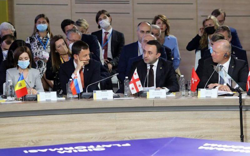 ირაკლი ღარიბაშვილი: მსოფლიოს უნდა შევახსენოთ, რომ ყირიმი უკრაინაა
