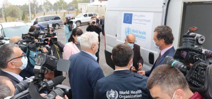 მასობრივი ვაქცინაციის მხარდასაჭერად ევროკავშირმა და ჯანმომ საქართველოს 300 სამედიცინო მაცივარი და სპეციალიზებული ვაქცინაციის ავტომობილი გადასცა
