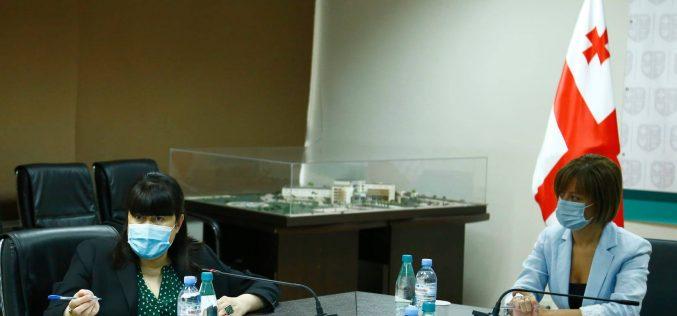 ჯანდაცვის სამინისტროში ეკატერინე ტიკარაძის ხელმძღვანელობით ვაქცინაციის საბჭო გაიმართა